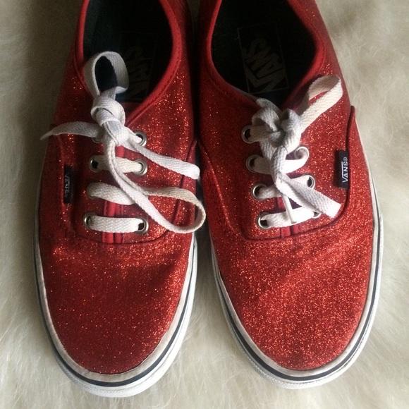 fa89d6cc20c4 Sparkly Red Vans 🌹. M_5a5514ea1dffdab65205c6bf